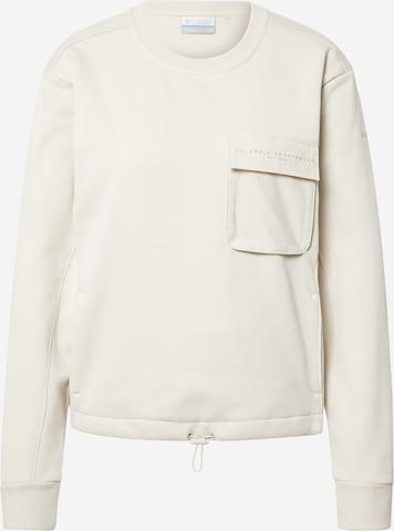 COLUMBIA Athletic Sweatshirt 'Lodge III' in White