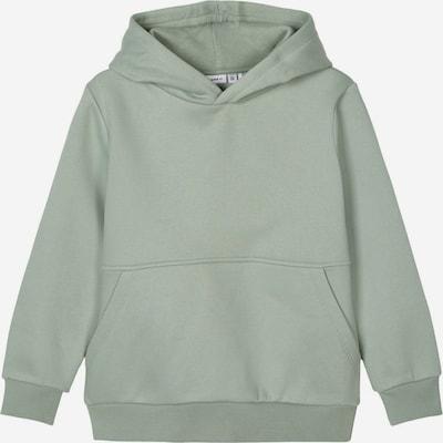 NAME IT Sweatshirt 'NKMNEOS LS BOXY SWEAT' in grün, Produktansicht