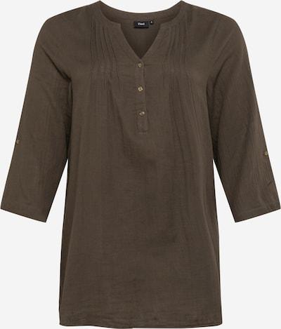Zizzi Tunika 'VVIVU' värissä khaki, Tuotenäkymä