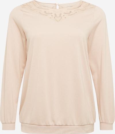 Zizzi Sweat-shirt en poudre, Vue avec produit