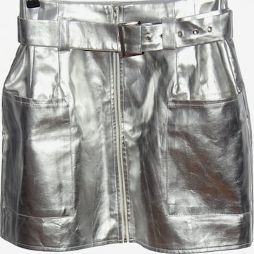 Missguided Minirock in S in Silber