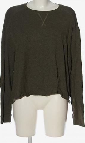 WEEKDAY Sweatshirt & Zip-Up Hoodie in L in Grey
