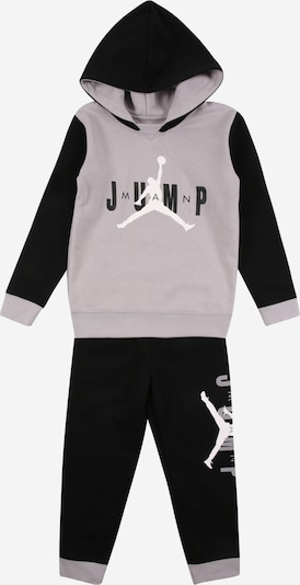Jordan Set 'JUMPMAN' in grau / schwarz / weiß, Produktansicht