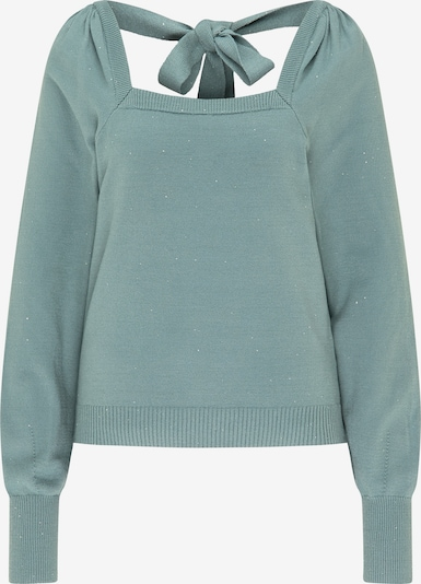 myMo at night Pullover in mint, Produktansicht