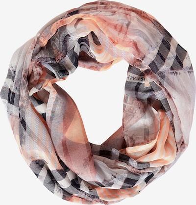 CECIL Schlauchschal in grau / orange / rosa / schwarz, Produktansicht