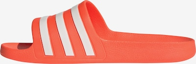 ADIDAS PERFORMANCE Badeschuh in orange / weiß, Produktansicht