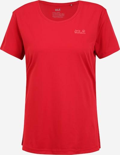 JACK WOLFSKIN Camiseta funcional en rojo, Vista del producto