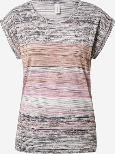 Soyaconcept Shirt 'GALINA 5' in orange / pink / schwarz / weiß, Produktansicht