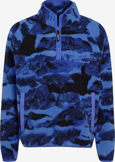 ADIDAS ORIGINALS Sweatshirt in blau / schwarz, Produktansicht