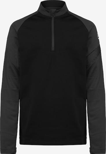 NIKE Shirt in dunkelgrau / schwarz / weiß, Produktansicht