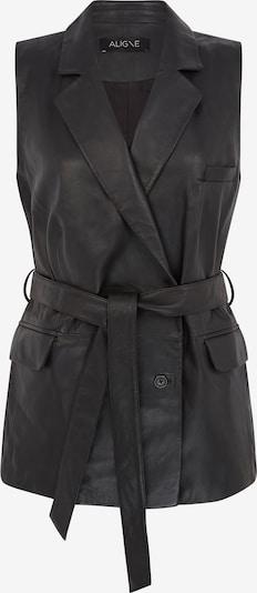 Aligne Weste 'Dahlia' in schwarz, Produktansicht