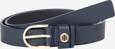 TOMMY HILFIGER Gürtel in dunkelblau / gold, Produktansicht