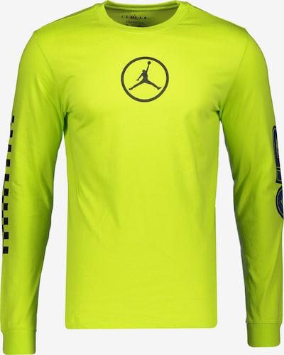 Jordan Shirt in neongrün / schwarz, Produktansicht
