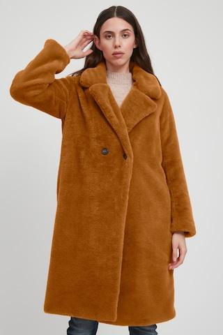 ICHI Winter Coat 'IHHAYA JA' in Orange
