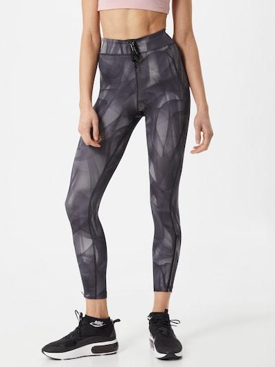NIKE Pantalón deportivo 'Epic Faster Run Division' en gris / antracita / blanco, Vista del modelo