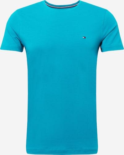 TOMMY HILFIGER T-Shirt in türkis, Produktansicht