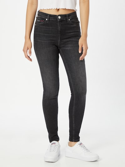 Jeans 'NORA' Tommy Jeans pe negru denim, Vizualizare model