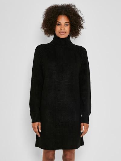 Noisy may Sukienka z dzianiny 'Timmy' w kolorze czarnym, Podgląd na modelu(-ce)