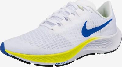 NIKE Skriešanas apavi 'Pegasus 37' karaliski zils / citronkrāsas / balts, Preces skats