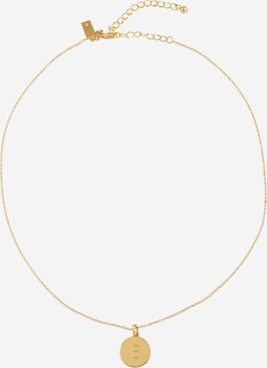 Kate Spade Kette 'E' in gold, Produktansicht