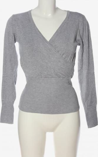 Voyelles V-Ausschnitt-Pullover in S in hellgrau, Produktansicht