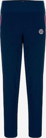 BIDI BADU Sweathose Teagan mit Markenlogo am Bein in blau, Produktansicht