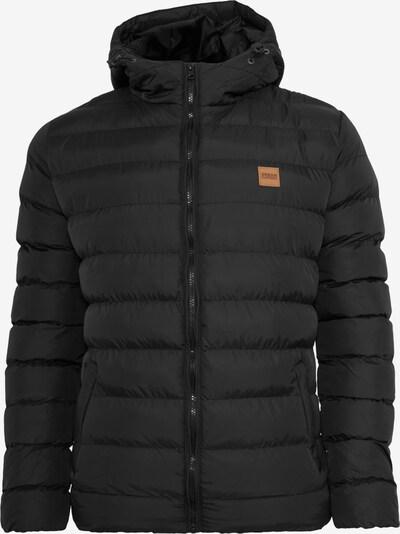 Urban Classics Winterjas in de kleur Zwart, Productweergave