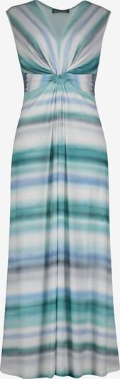 Betty Barclay Robe de soirée en bleu / gris / blanc, Vue avec produit