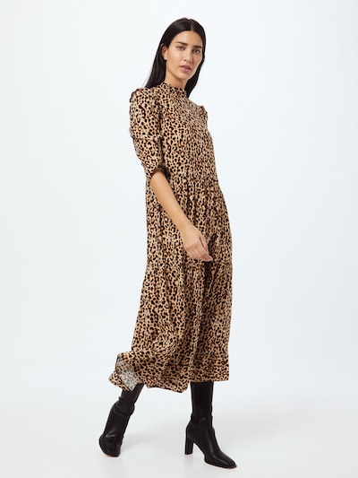 NEW LOOK Šaty - béžová / hnedá / čierna, Model/-ka