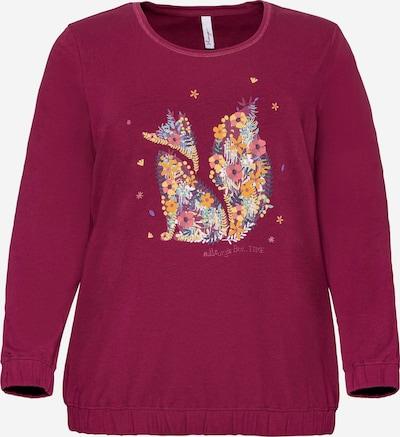 SHEEGO Sweatshirt in himbeer, Produktansicht