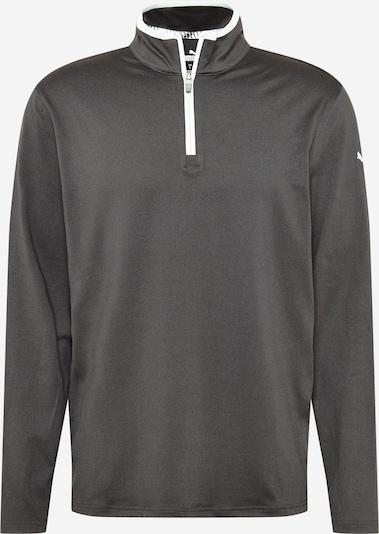 PUMA Спортен блузон с качулка в черно, Преглед на продукта