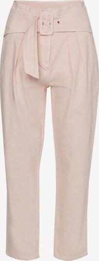 ZOE KARSSEN Bandplooi jeans in de kleur Pastelroze, Productweergave
