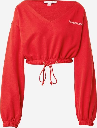 Public Desire Sweatshirt in rot / weiß, Produktansicht
