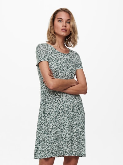 ONLY Kleid  'Bera' in mint / weiß, Modelansicht