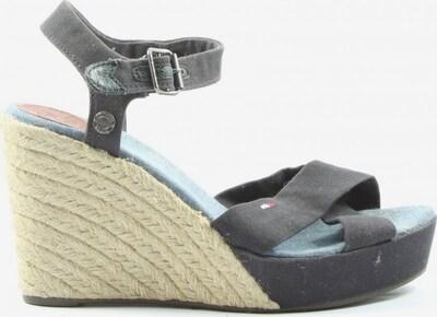 TOMMY HILFIGER Wedges Sandaletten in 39 in schwarz, Produktansicht