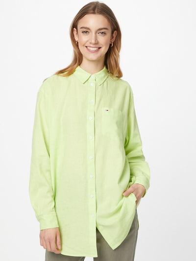 citromzöld Tommy Jeans Blúz, Modell nézet