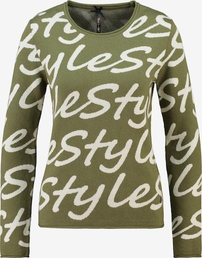 Key Largo Pullover in khaki / weiß, Produktansicht