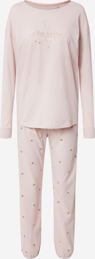 TRIUMPH Pyjama en or / rose pastel, Vue avec produit