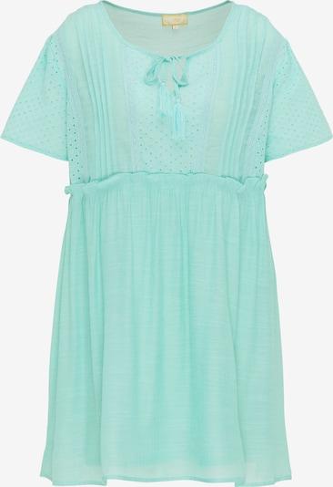 Rochie de vară MYMO pe albastru aqua, Vizualizare produs