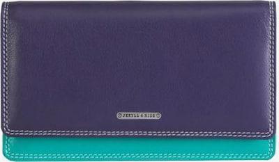 Jekyll & Hide Portemonnaie 'Caribbean' in hellblau / lila / pink, Produktansicht