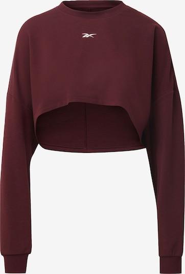 REEBOK Pullover in weinrot, Produktansicht