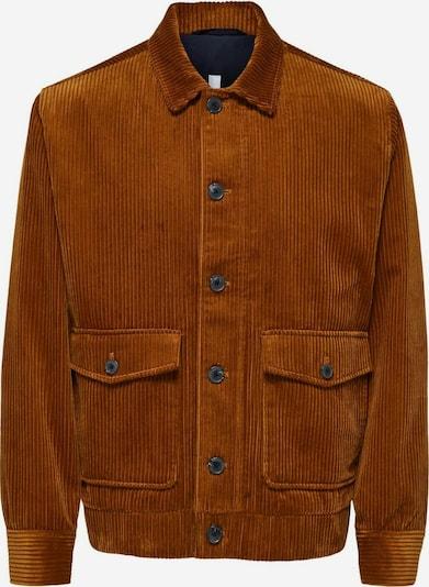 SELECTED HOMME Tussenjas in de kleur Karamel, Productweergave