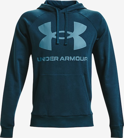 UNDER ARMOUR Athletic Sweatshirt 'Rival' in Light blue / Petrol, Item view