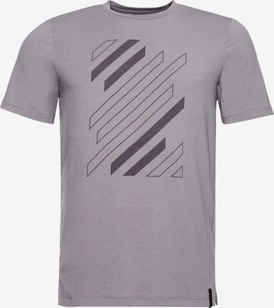 Superdry T-Shirt fonctionnel 'Flex' en gris clair / gris foncé, Vue avec produit