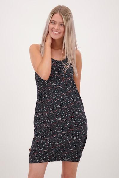 Alife and Kickin Letní šaty 'Cameron' - marine modrá / růžová / bílá, Model/ka