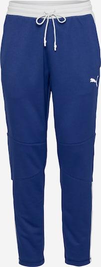 PUMA Pantalon de sport 'Activate' en bleu foncé / blanc, Vue avec produit
