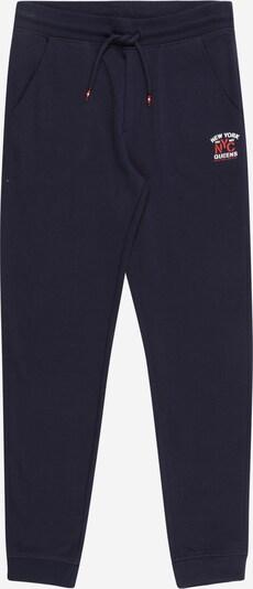 OVS Nohavice - námornícka modrá / červená / biela, Produkt