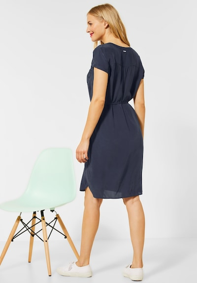street one kleid in blau | about you
