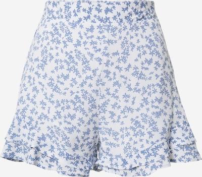 Cotton On Broek 'FIFI' in de kleur Smoky blue / Wit, Productweergave