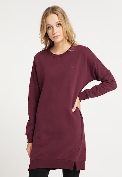 DreiMaster Vintage Kleid in burgunder, Modelansicht